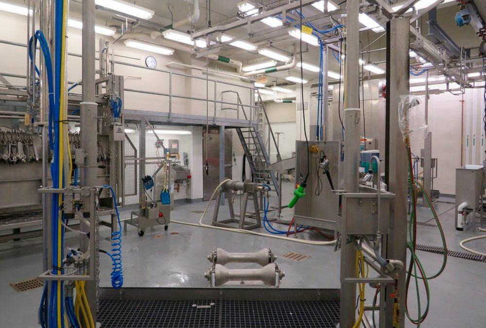 Federally licensed university abattoir upgraded